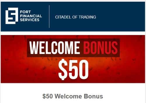 $50 Welcome Bonus от Fort Financial Services