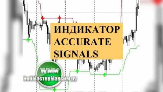Индикатор Accurate Signals. Скачать бесплатно, мой отзыв. Применим ли на форекс
