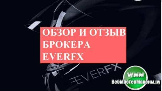 Обзор и отзыв брокера EverFx. В плане обучения у брокера все стандартно