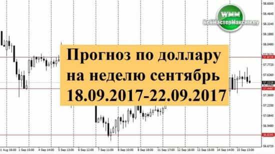 Прогноз по евро на неделю сентябрь 16.09.2017-22.09.2017. Канал только формируется