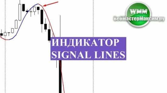 Индикатор Signal Lines. Как использовать перемену цвета