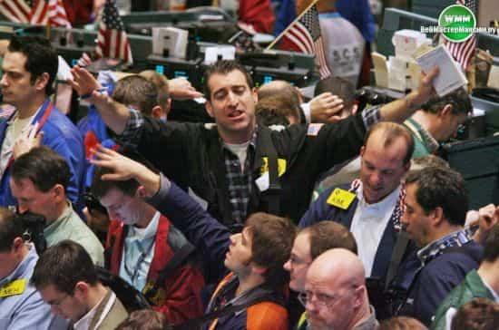 торговля против толпы