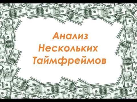 Урок №7. Анализ нескольких таймфреймов в Price Action. Как делать?